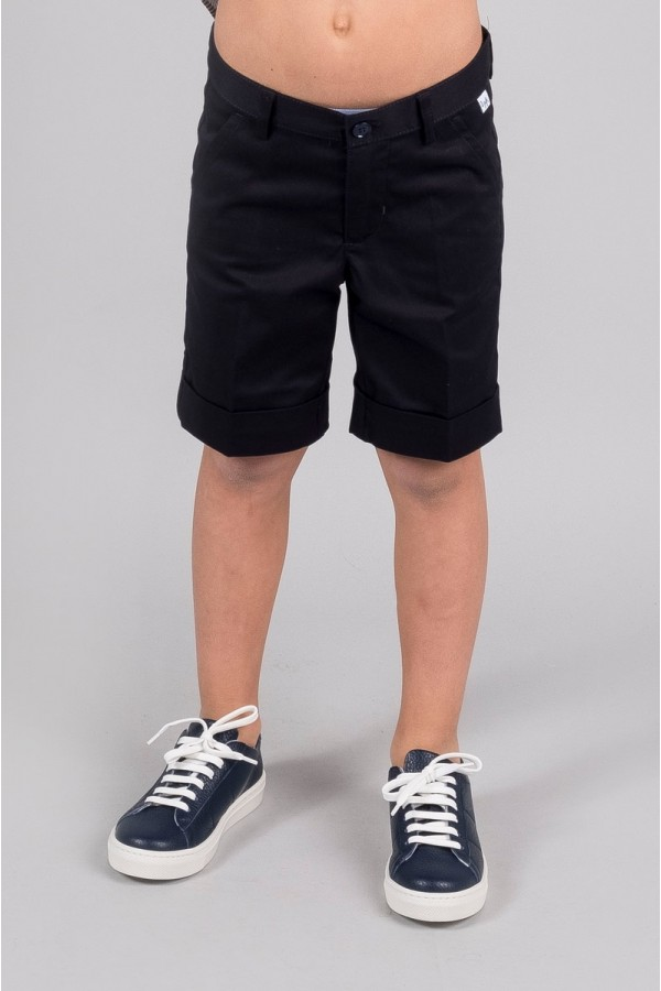 IL GUFO SHORTS NAVY BLUE