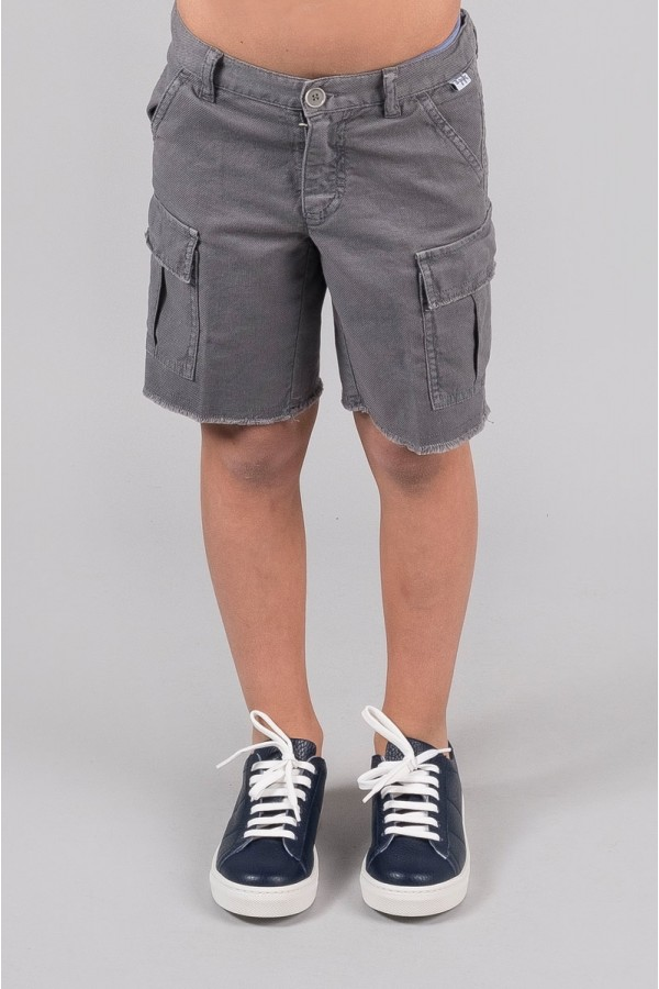 IL GUFO SHORTS GREY