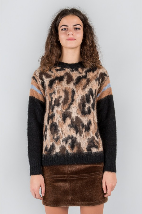ANIMALIER SWEATER MK313