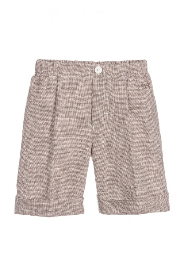 IL GUFO BROWN SHORTS