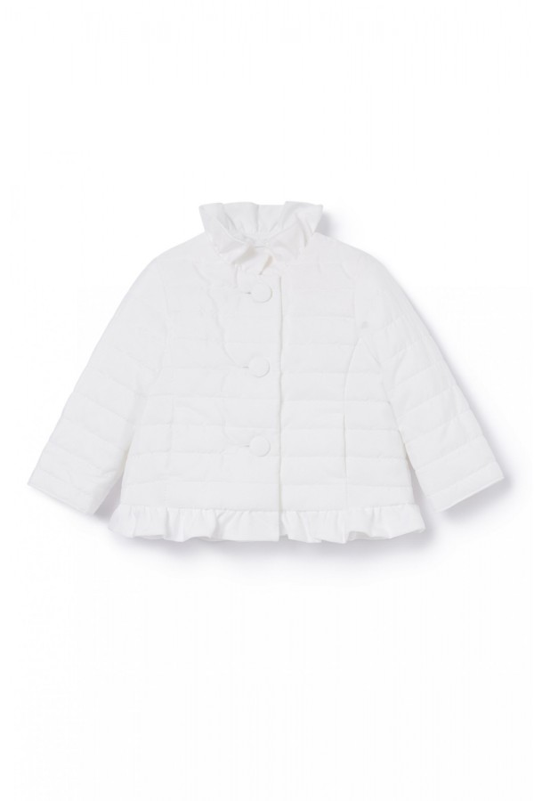 IL GUFO GIRL WHITE JACKET
