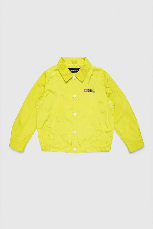 DIESEL GIACCA A VENTO LIME