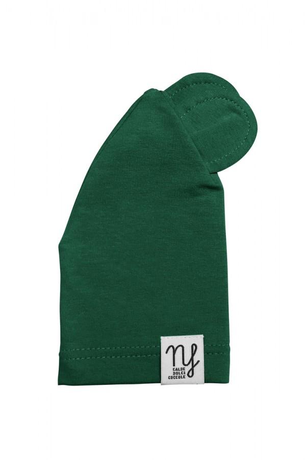 NANNAFRUFRU GREEN TEDDY HAT