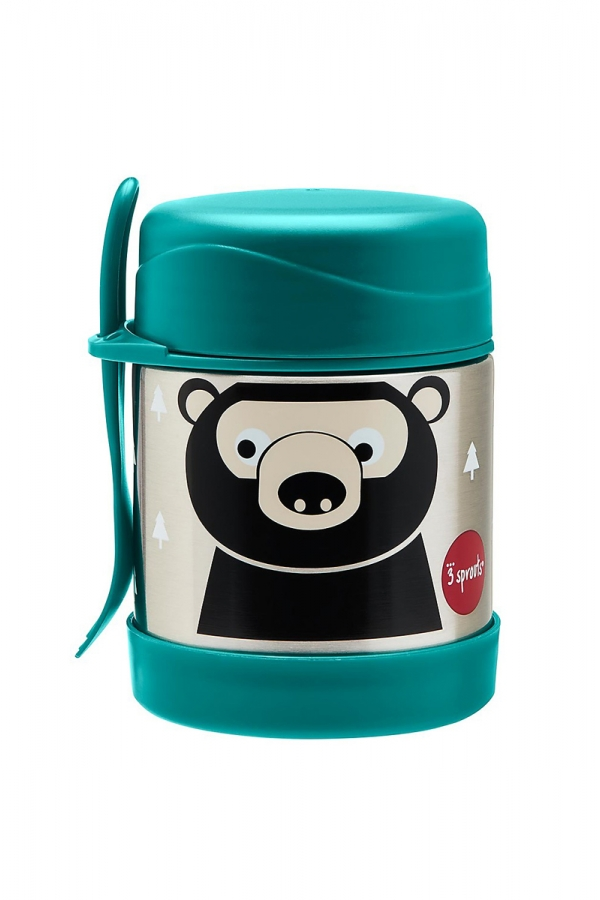 3 SPROUTS THERMOS GREEN BEAR