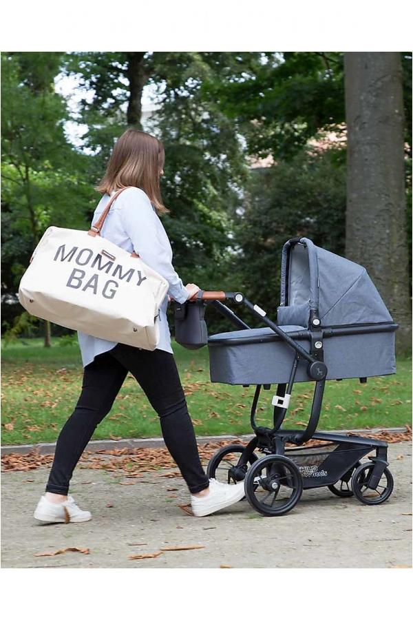 CHILDHOME MOMMY BAG AVORIO