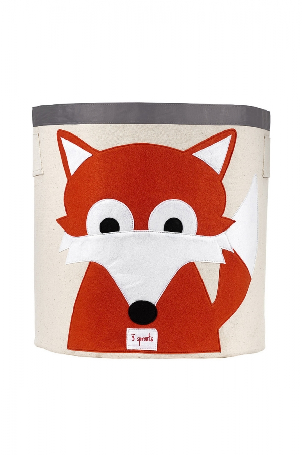 3 SPROUTS FOX TOYS BASKET