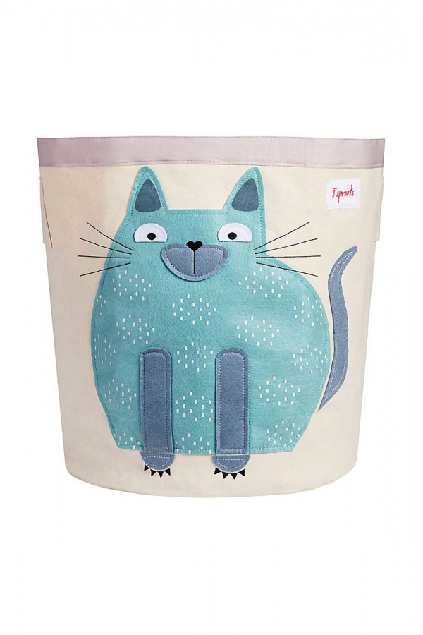 3 SPROUTS CAT TOYS BASKET