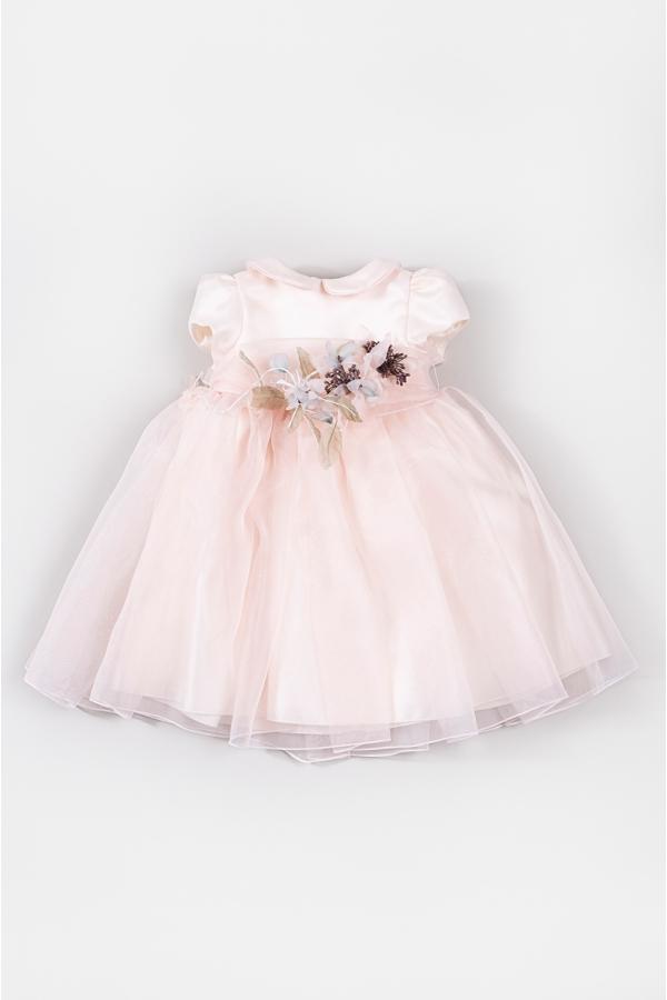 CAF PINK FLOWER DRESS