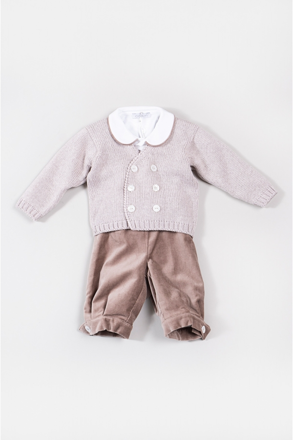 COLIBRI TAUPE OUTFIT