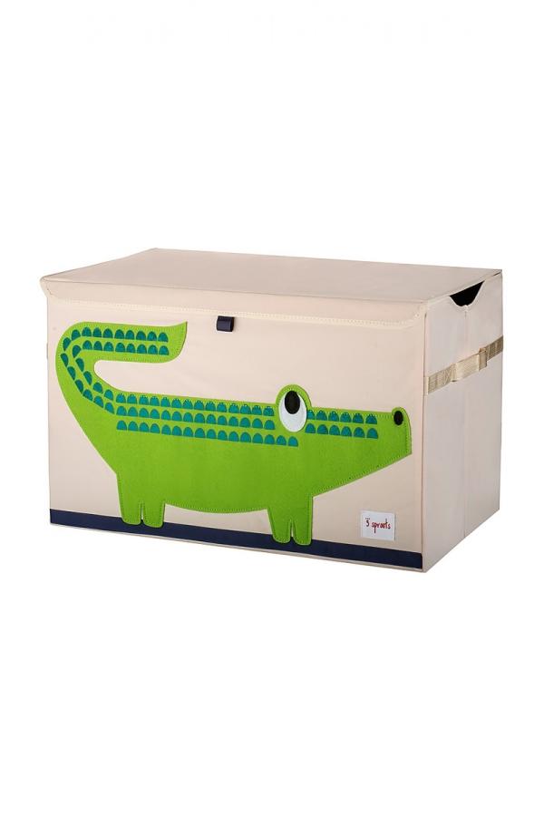 3 SPROUTS CROCODILE TOYS BOX
