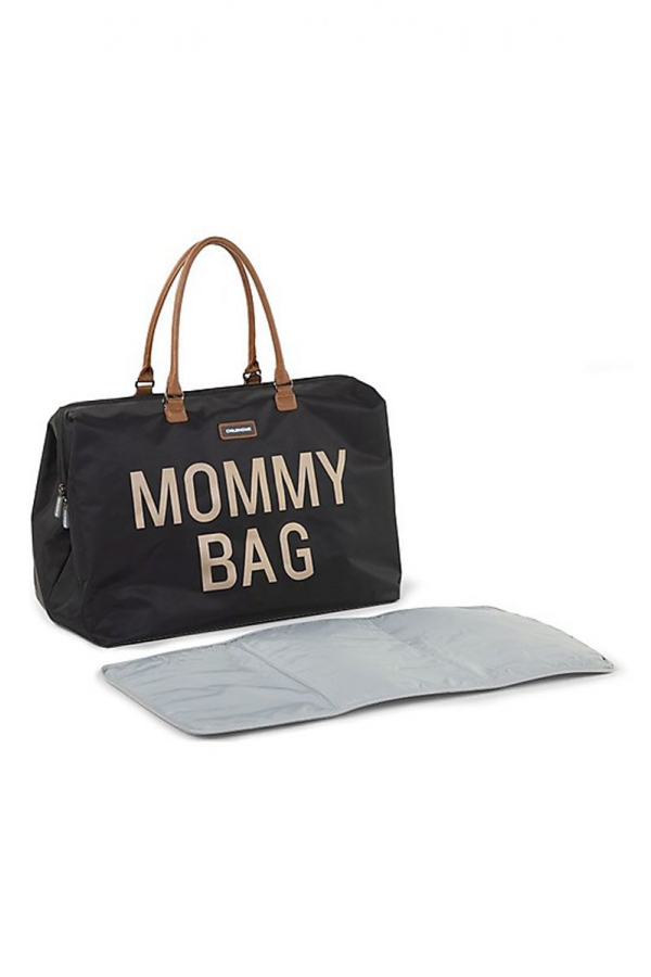 CHILDHOME MOMMY BAG BLACK GOLD